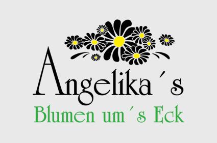 Logo Angelika's Blumen um's Eck